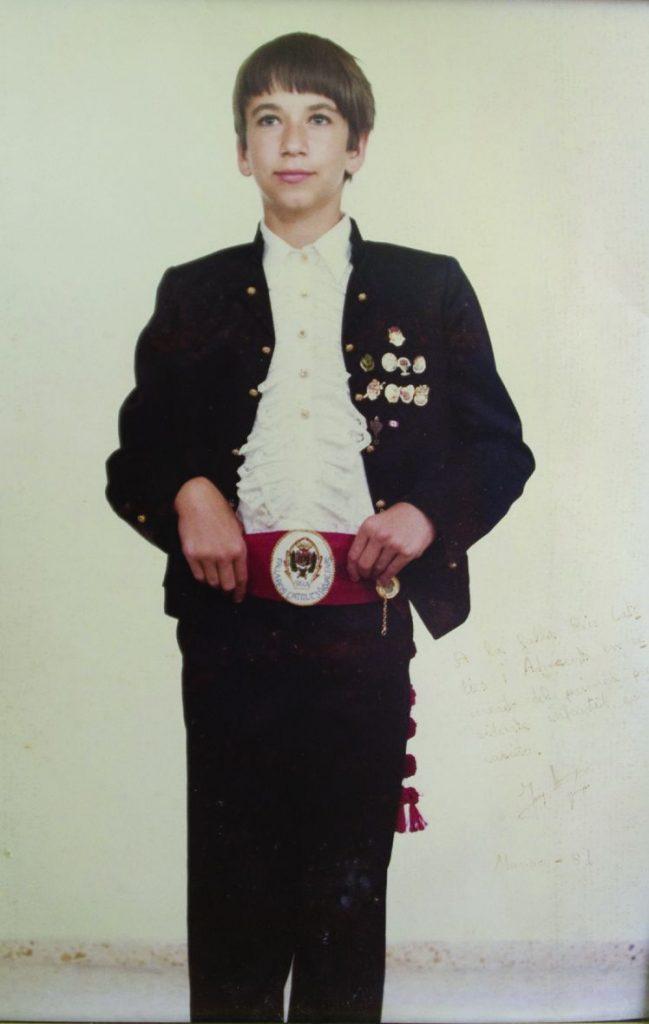 President Infantil Any 1981: Jony Arnaiz Veiga
