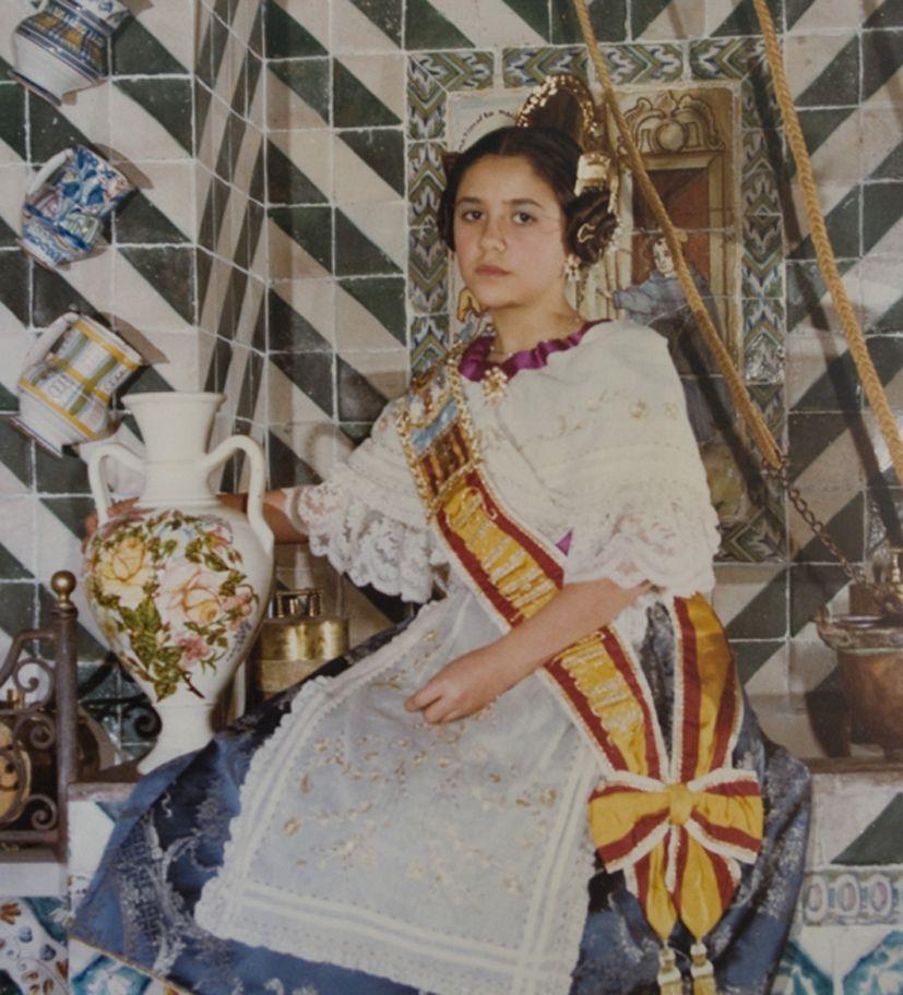 Fallera Major Infantil Any 1983: Adela Mayo López