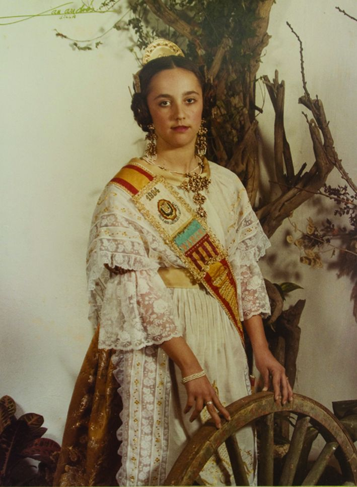 Fallera Major Infantil Any 1984: Rosario Garrido Gómez