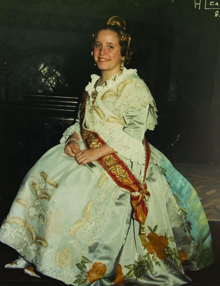 Fallera Major Infantil Any 1988: Ana Isabel Antón Gilabert
