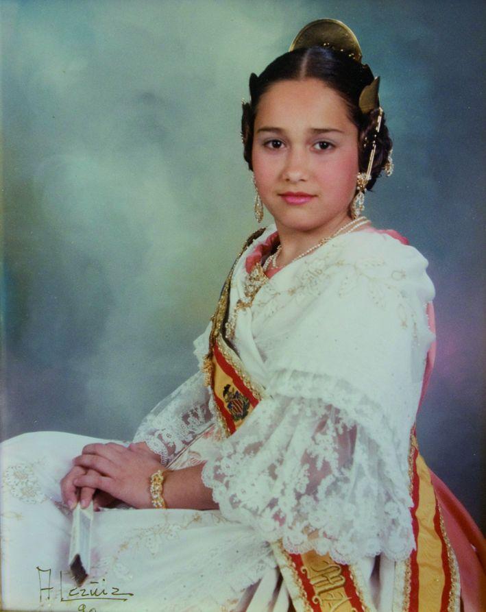 Fallera Major Infantil Any 1990: Angela María Alagarda Jurado