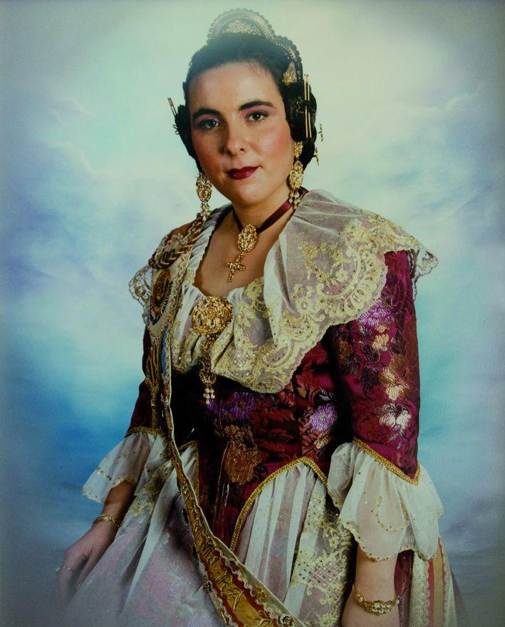 Fallera Major Any 1992: Cristina Isabel Valero Redondo