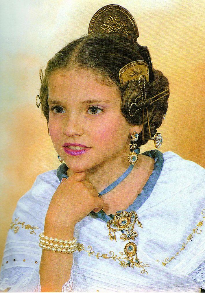 Fallera Major Infantil Any 1992: Ana María Poveda Ruiz