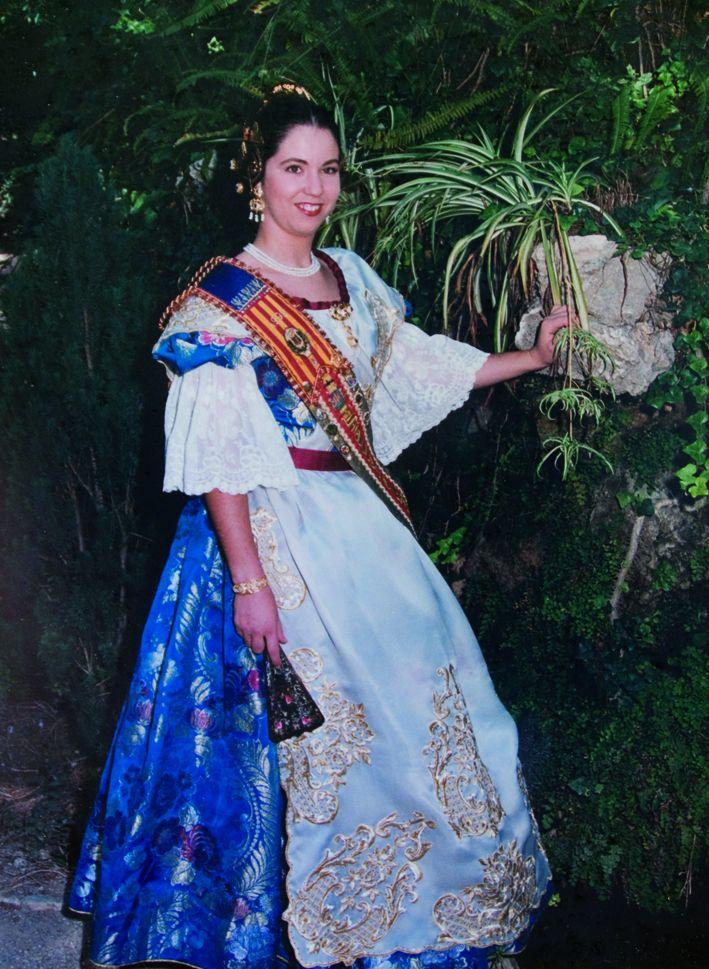 Fallera Major Any 1995: Alicia Alcañiz Hernández