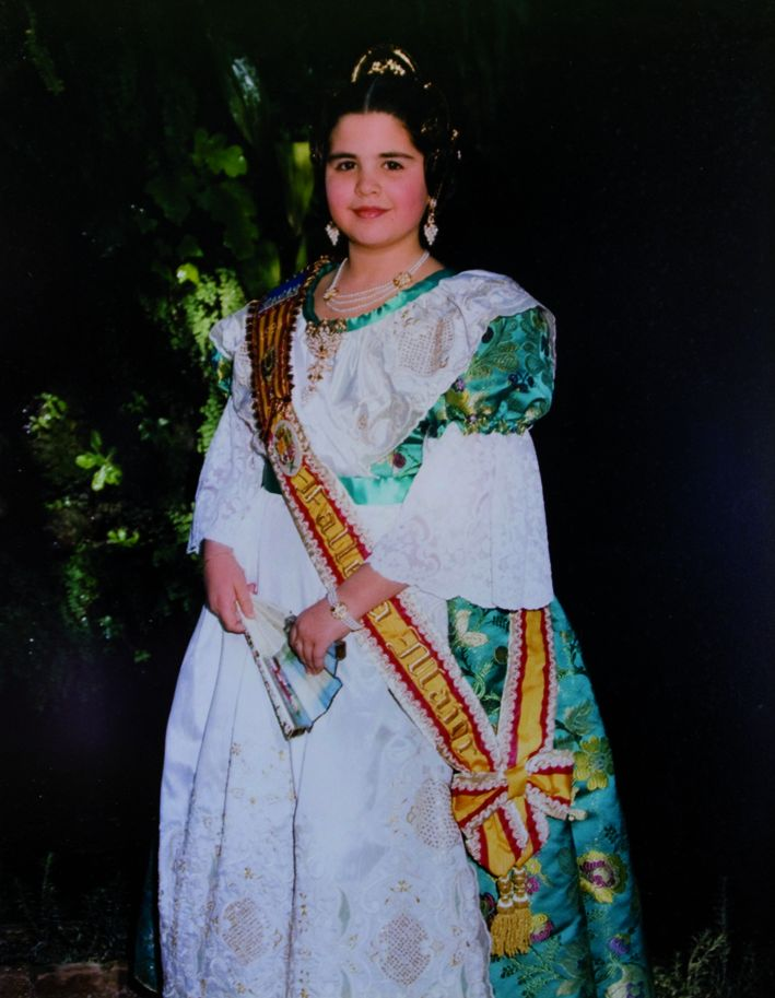 Fallera Major Infantil Any 1996: Cristina Martínez Contreras
