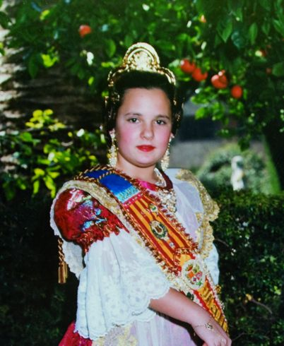 Fallera Major Infantil Any 1997: Abigail Peris García