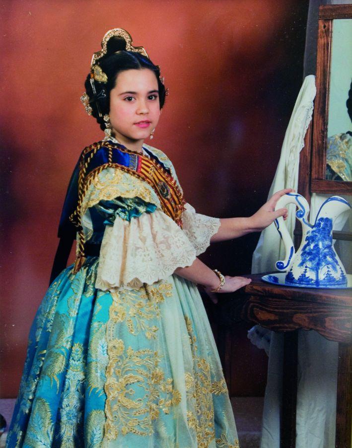 Fallera Major Infantil Any 1998: Laura Sánchez Fernández