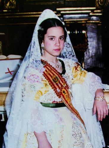 Fallera Major Infantil Any 1999: Laura Sánchez Fernández