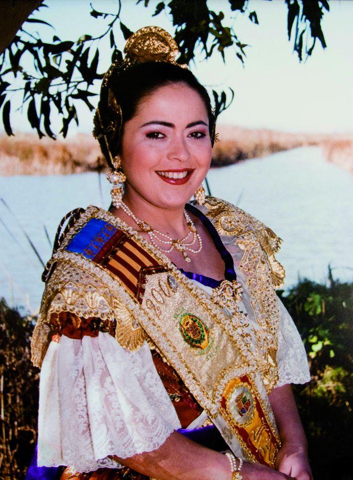 Fallera Major Any 2001: Sandra Rubio Molina
