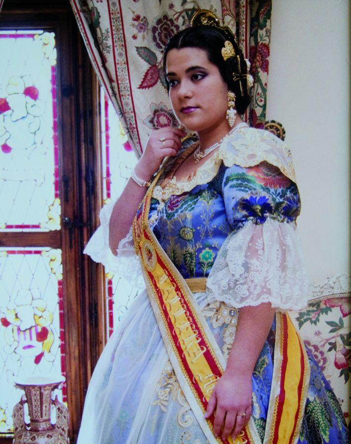 Fallera Major Any 2002: Eva María García Domingo