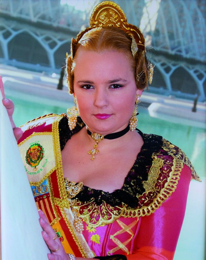 Fallera Major Any 2005: Abigail Peris García