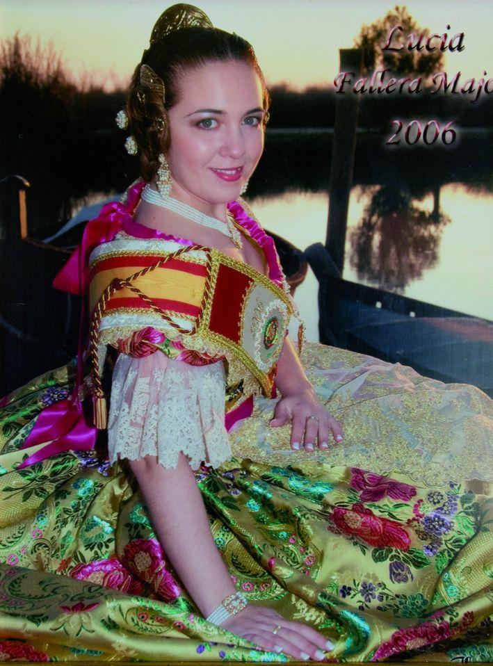 Fallera Major Any 2006: Lucia Dasí Guillem