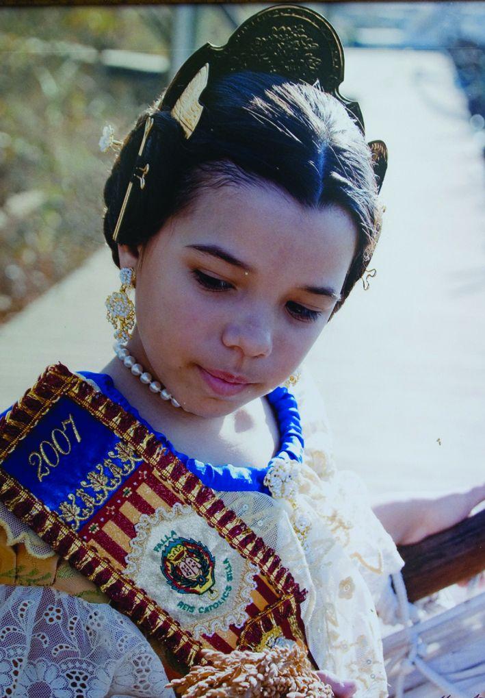 Fallera Major Infantil Any 2007: Cristina Medina De Los Santos