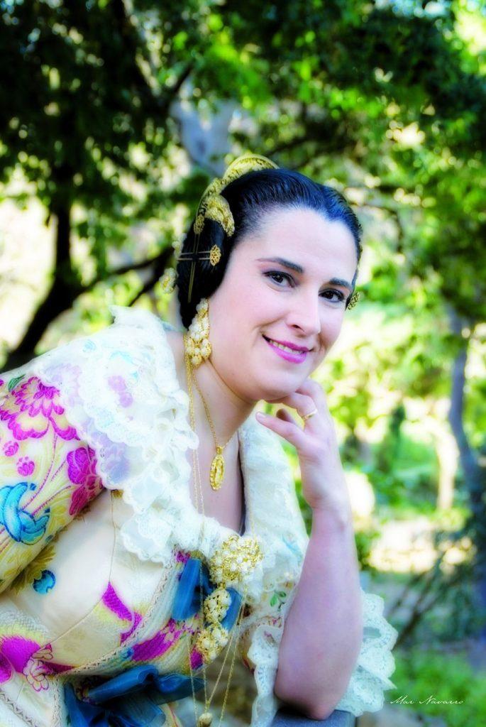 Fallera Major Any 2008: Mari Carmen Muñoz Fernández