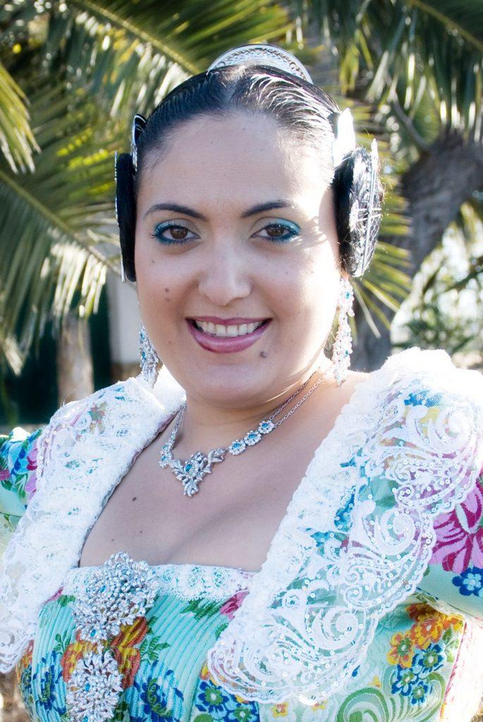 Fallera Major Any 2009: Tania Esperanza Rubio Molina