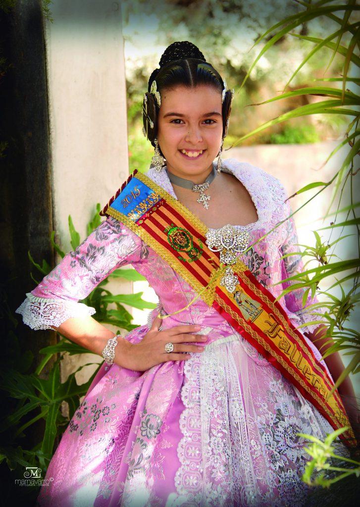 Fallera Major Infantil Any 2015: Andrea Gutiérrez Alfaro