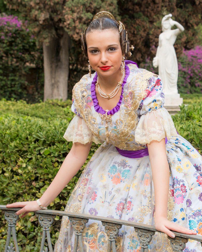 Fallera Major Any 2017: Elena Martorell San Daniel