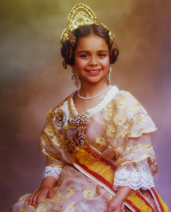 Fallera Major Infantil Any 1981: María José Sanmartí Baixauli