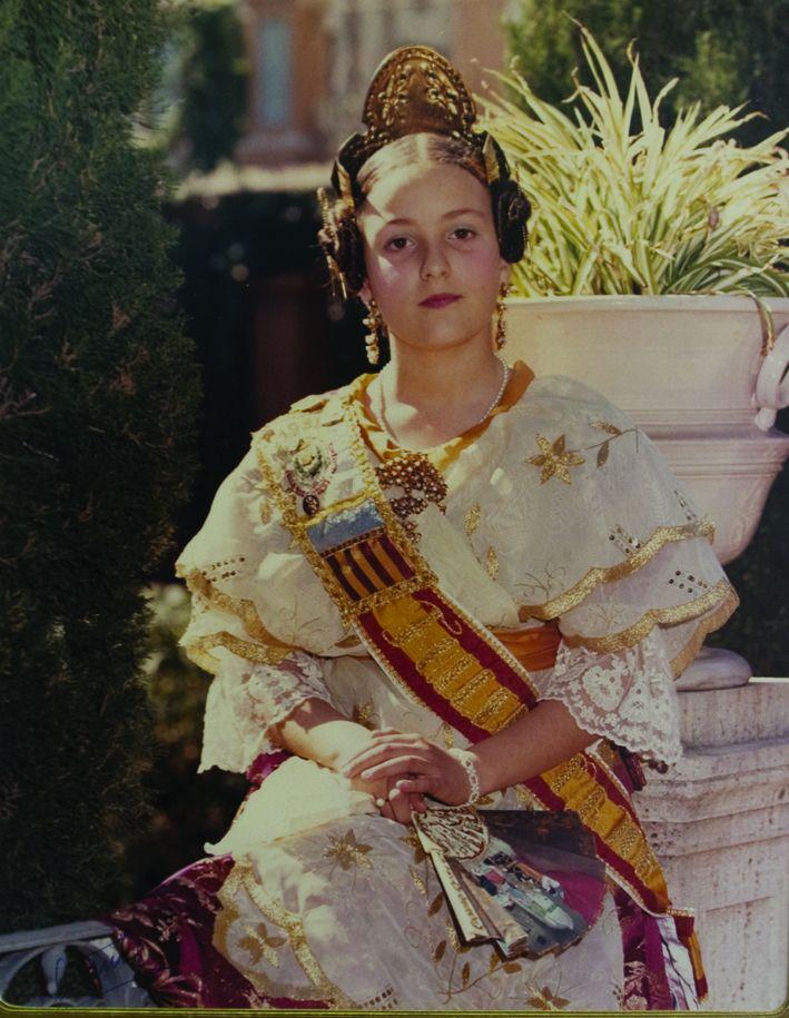 Fallera Major Infantil Any 1982: María Luisa Herreros Peña