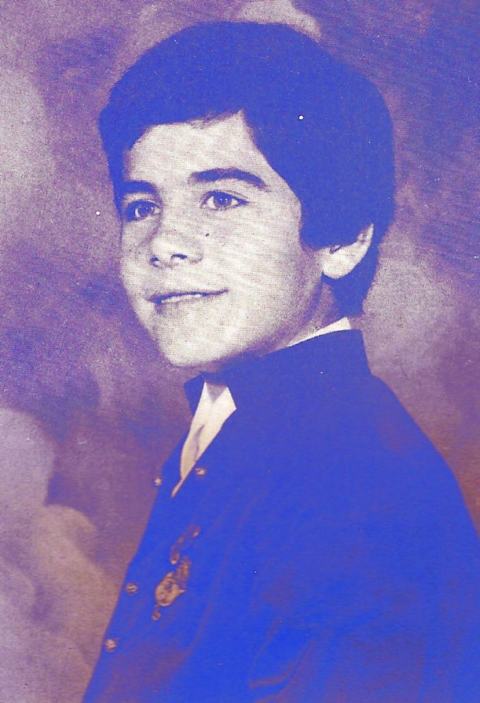 President Infantil Any 1984: Galo Villuendas Camacho
