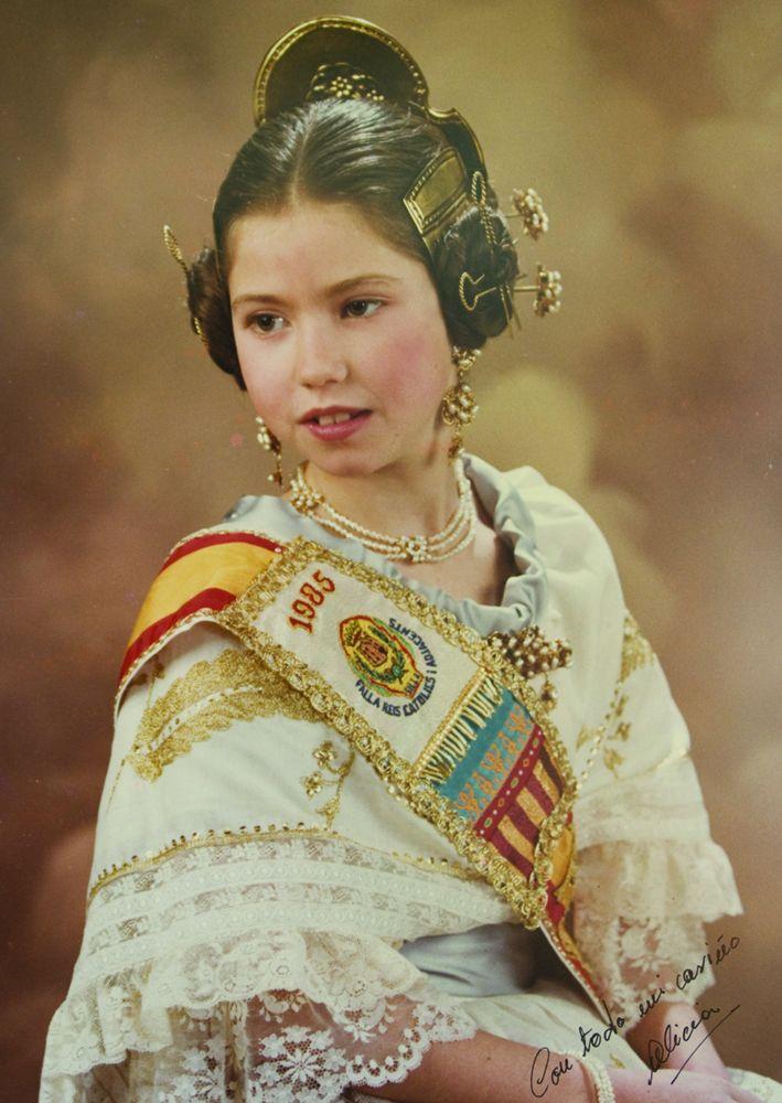 Fallera Major Infantil Any 1985: Alicia Alcañiz Hernández