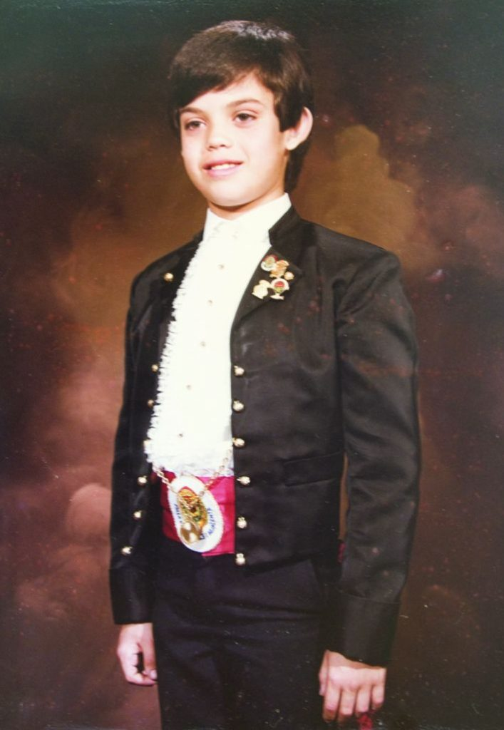 President Infantil Any 1985: Juan Antonio Cañibano Pastor
