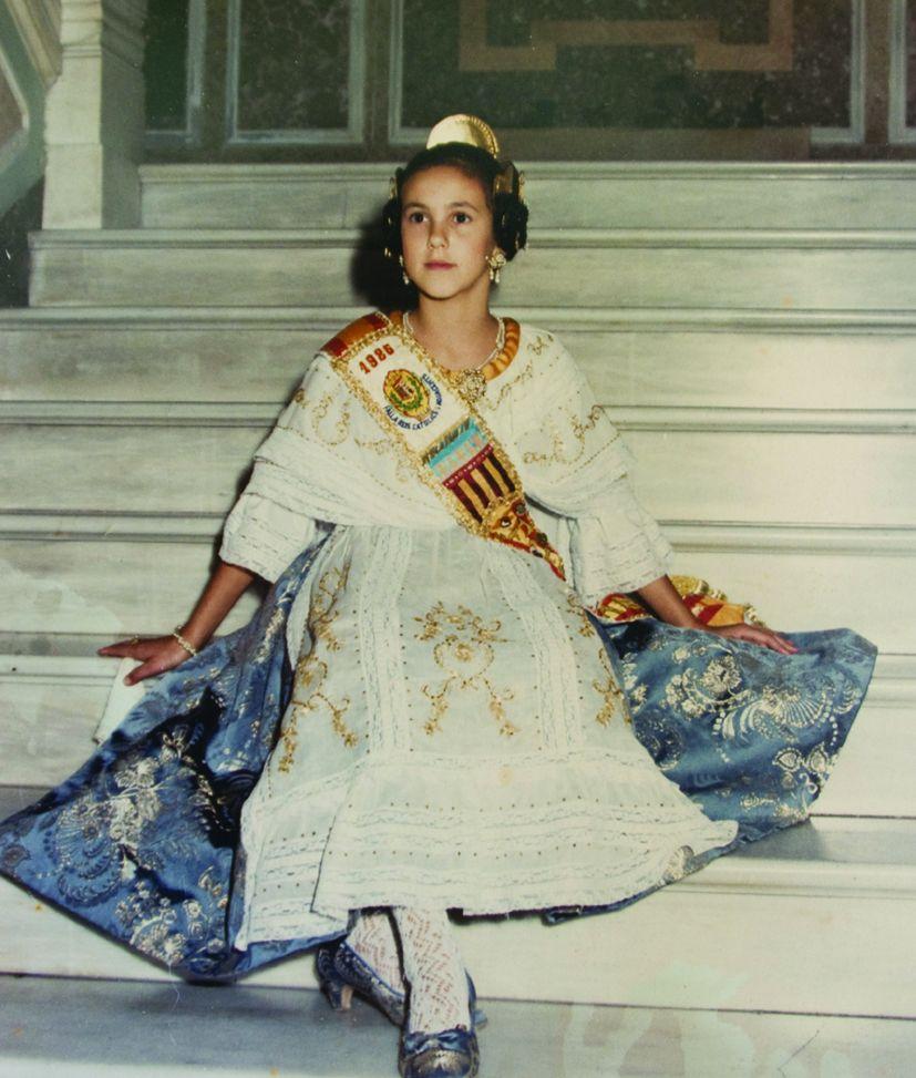 Fallera Major Infantil Any 1986: María Vicenta Alberola Ribera