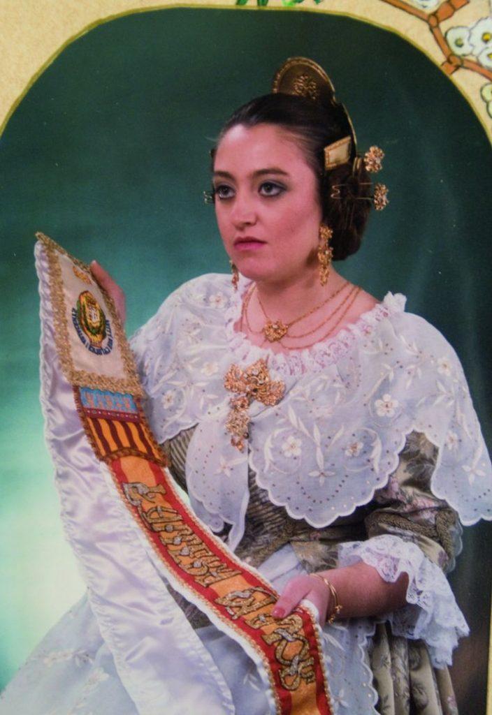 Fallera Major Any 1989: María Luisa Cervera Mulet