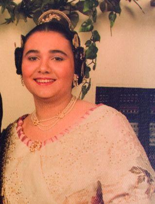 Fallera Major Any 1990: María Ángeles Mirto Lopez