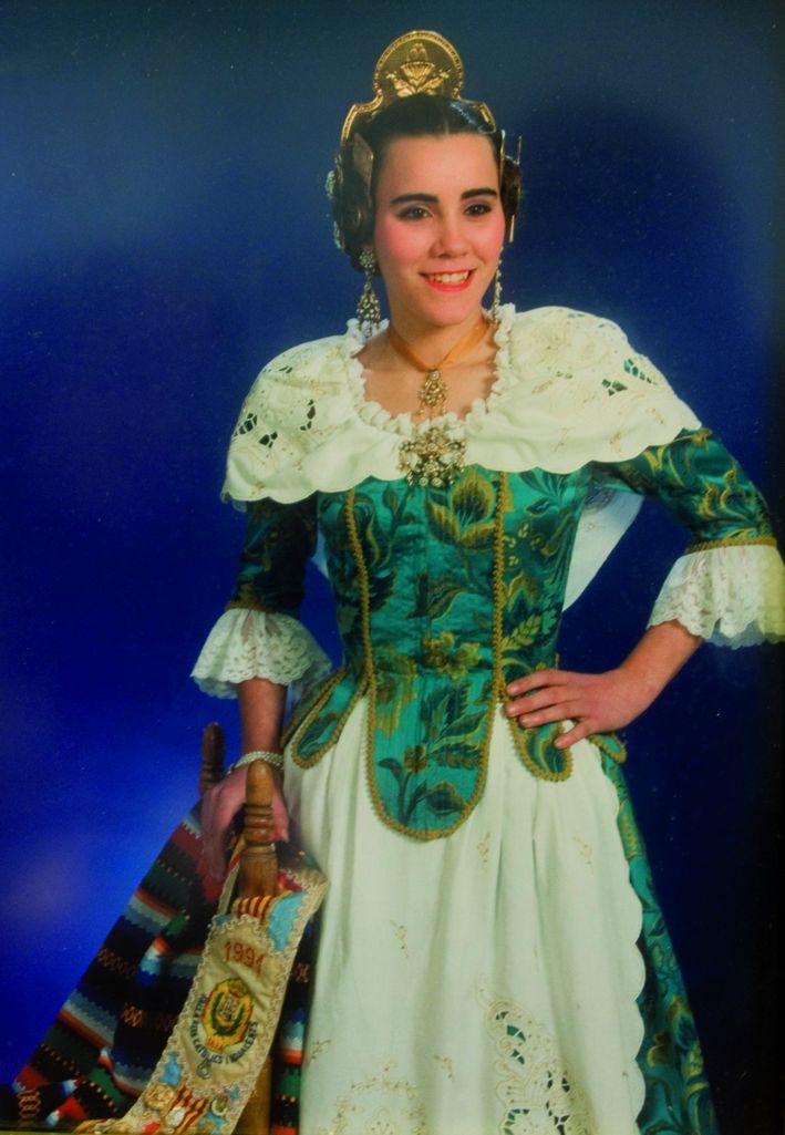 Fallera Major Any 1991: Mari Luz Selles De La Iglesia