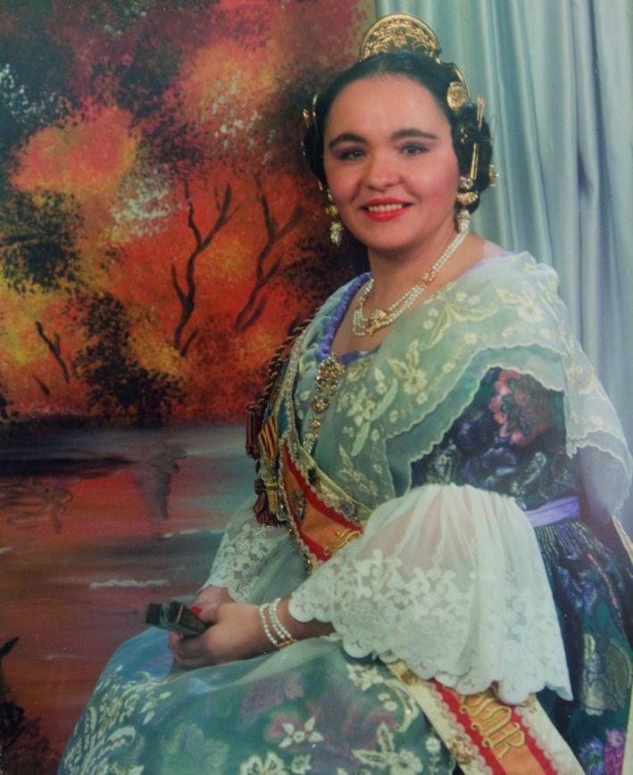 Fallera Major Any 1993: Julia Fernández Barragán