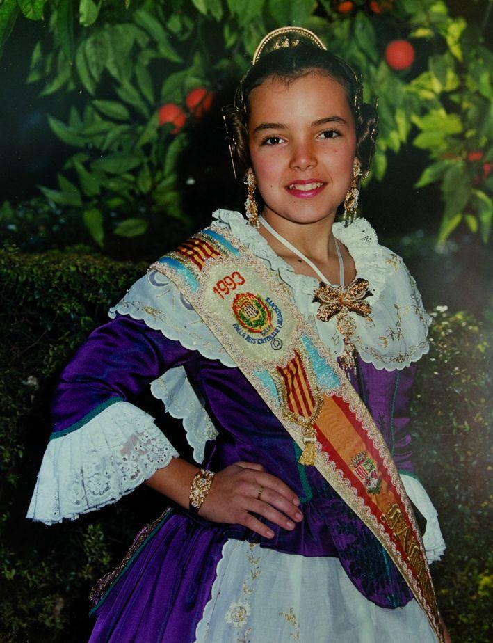 Fallera Major Infantil Any 1993: Vanessa De La Encarnación Jiménez