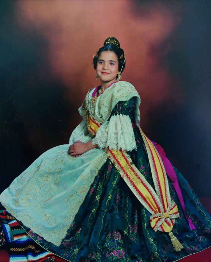 Fallera Major Infantil Any 1995: Vanessa Calle Escobar