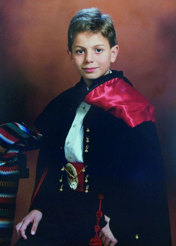 President Infantil Any 1995: Juan Pinto Moreno