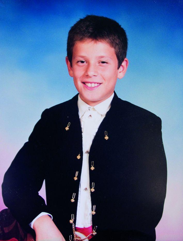 President Infantil Any 2002: Daniel Muñoz Martínez