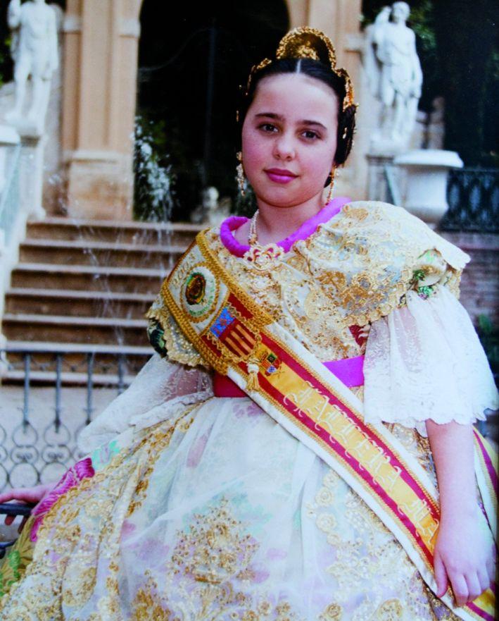Fallera Major Infantil Any 2003: Amalia Pormentier Alphonse