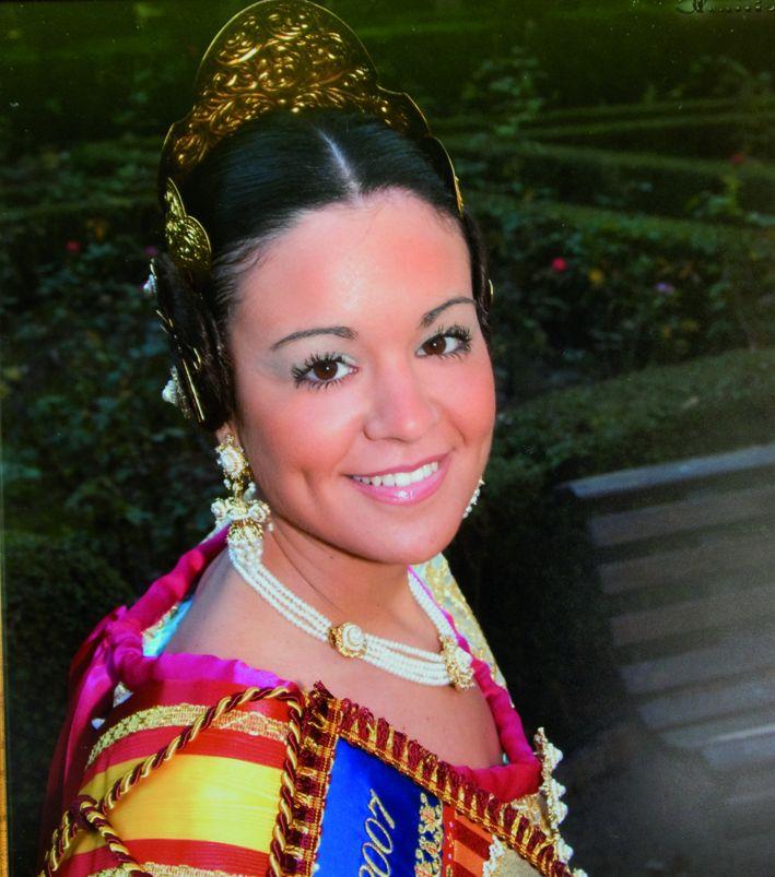 Fallera Major Any 2007: Amparo Ruiz Soriano