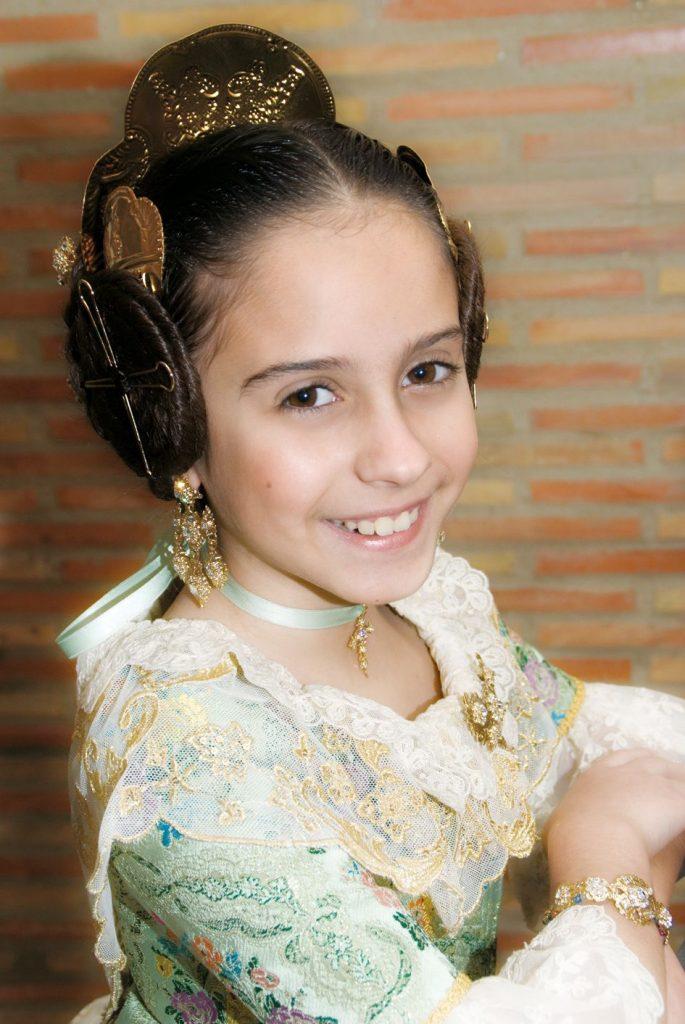 Fallera Major Infantil Any 2009: Rocío Hervás Montero