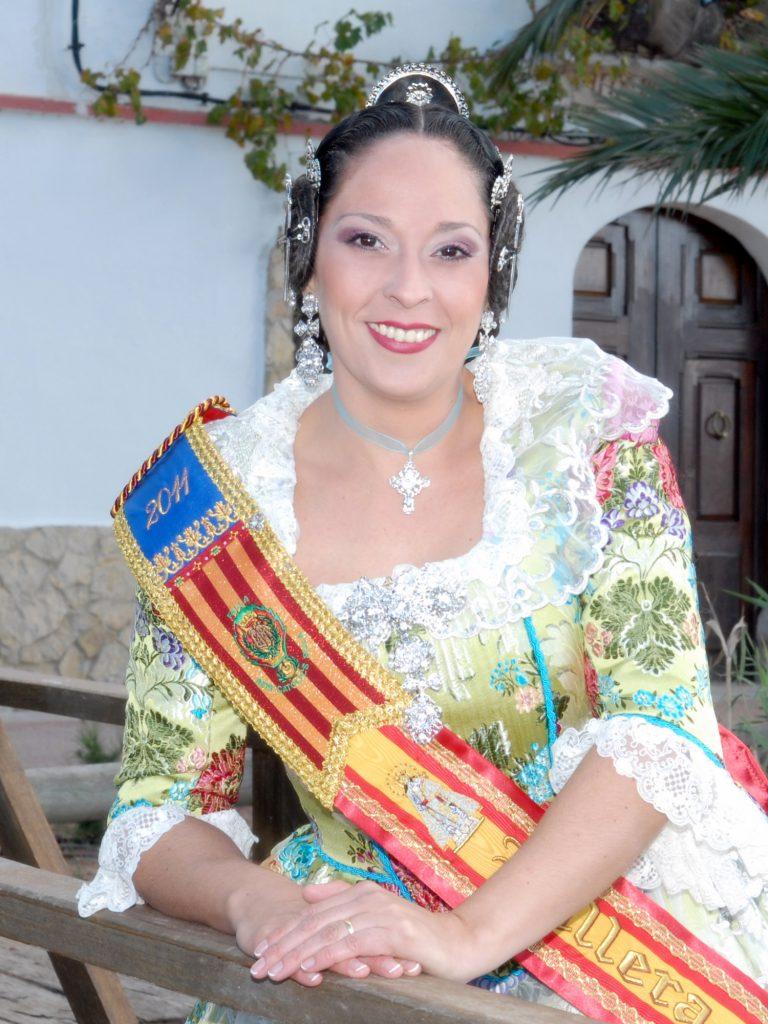 Fallera Major Any 2011: Ana Guillem Magalló
