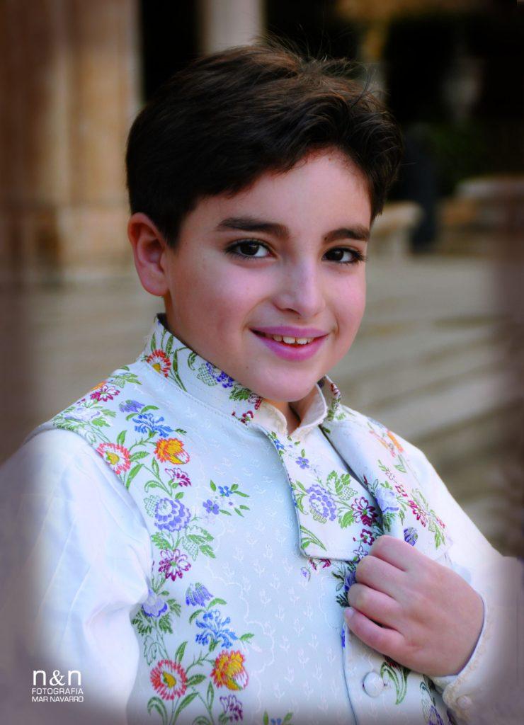 President Infantil Any 2011: Cristian Pérez Fernández