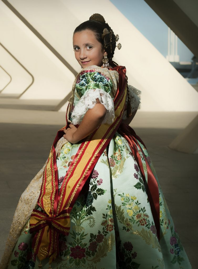 Fallera Major Infantil Any 2012: Sofía Sevilla Gutiérrez