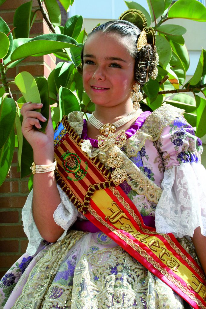 Fallera Major Infantil Any 2013: Sofía Chulvi Iborra