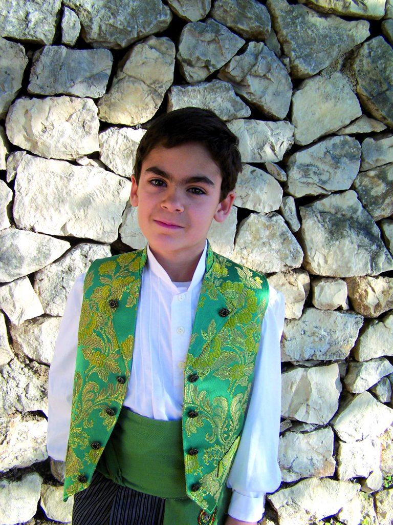 President Infantil Any 2013: Julio Alberto Ruiz Navarro