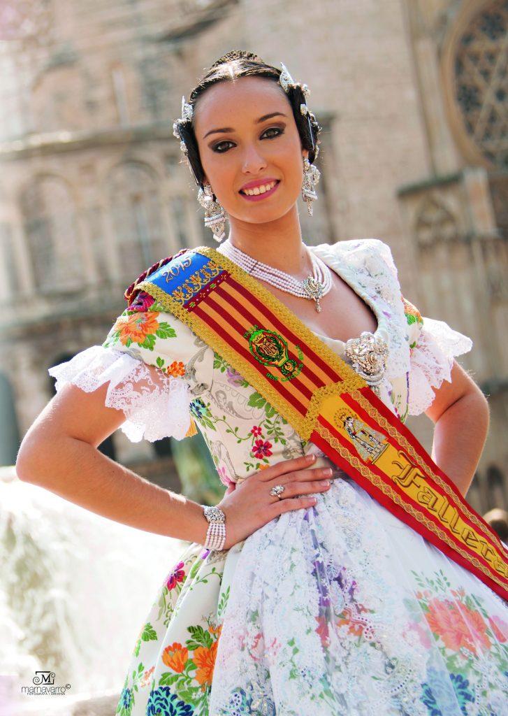 Fallera Major Any 2015: Carla Iborra Forner