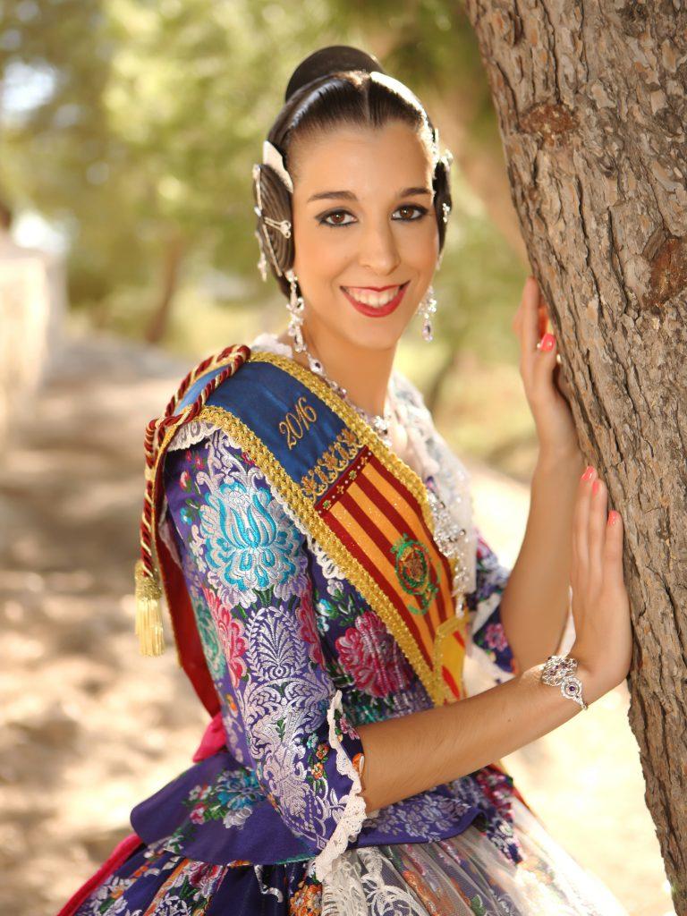 Fallera Major Any 2016: María Escriba Satorres